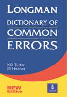 Longman Dictionary Of Common Errors Ne
