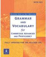 Grammar And Vocabulary For Cae And Cpe z Kluczem New Edition