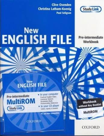 English File New Pre-Intermediate Zeszyt Ćwiczeń + Multirom Pack