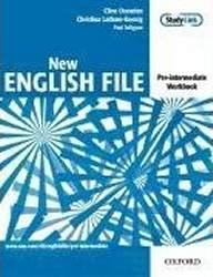 English File New Pre-Intermediate Zeszyt Ćwiczeń z Odp. + Multirom Pack