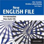 English File New Pre-Intermediate Płytka Audio CD(3)