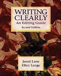 Writing Clearly - An Editing Guide