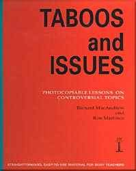 Taboos And Issues - Photocopiable Lessons On Controversial Topics