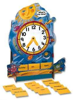Eli Class Clock English