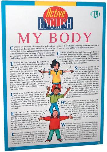 Active English My Body
