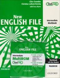 English File Intermediate New Zeszyt Ćwiczeń z Odp. + Cd-rom