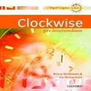 Clockwise Pre-Intermediate Płytka Audio CD Klasowa