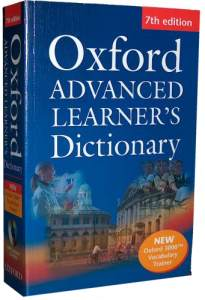 Oxford Advanced Learners Dictionary Oprawa Miękka 7 Wydanie + Oxford 3000 Vocabulary Trainer and Compass CD-ROM