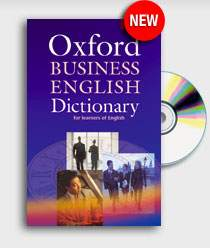 Oxford Business English Dictionary For Learners Of English + CD-ROM