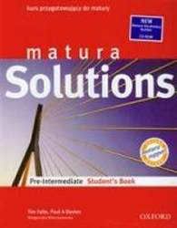 Matura Solutions Pre-Intermediate Podręcznik + CD