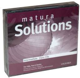 Matura Solutions Intermediate Płytka Audio CD