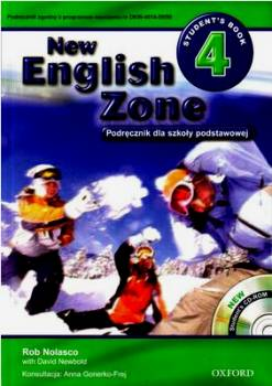 English Zone New 4 Podręcznik + Cd-rom