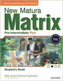 Matrix New Pre-intermediate Plus Płytka Audio Cd