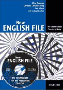 English File New Pre-Intermediate Książka Nauczyciela + CD-ROM