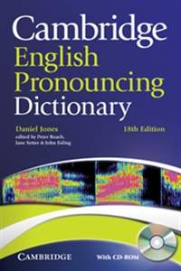 English Pronouncing Dictionary (18th Edition) + Cd-rom