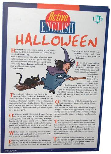 Active English Halloween