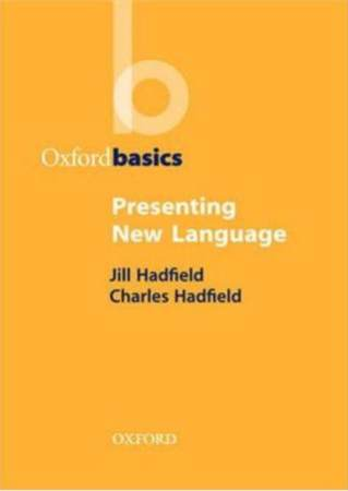 Oxford Basics Presenting New Language