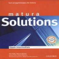 Matura Solutions Upper-Intermediate Płytki Audio CD Klasowe