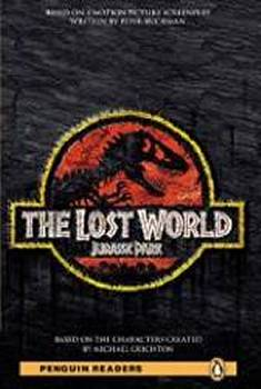 Penguin Readers 4 The Lost World Jurassic Park + mp3 cd