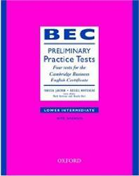 Bec Practice Tests Preliminary z Kluczem