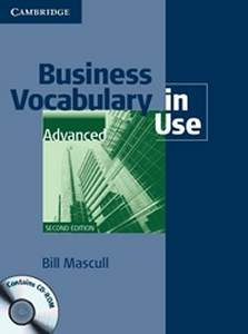 Business Vocabulary In Use Advanced 2nd Edition + Cd-rom