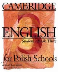 Cambridge English For Polish Schools 3 Podręcznik