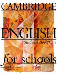 Cambridge English For Schools 1 Podręcznik
