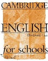 Cambridge English For Schools 1 Zeszyt Ćwiczeń