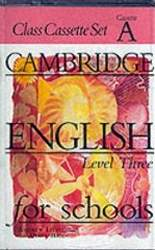 Cambridge English For Schools 3 Kasety Klasowe