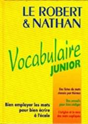 Le Robert Nathan Vocabulaire Junior