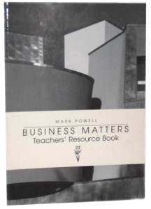 Business Matters Teachers Resource Book