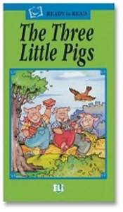 Ready To Read The Three Little Pigs + Audio CD