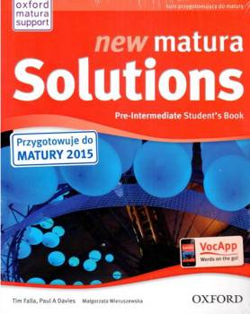New Matura Solutions Pre-Intermediate Podręcznik