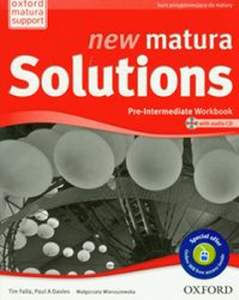 New Matura Solutions Pre-Intermediate Zeszyt Ćwiczeń