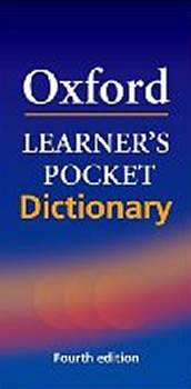 Oxford Learners Pocket Dictionary 4th Edition