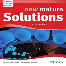 New Matura Solutions Pre-Intermediate Płytki Audio CD