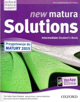 New Matura Solutions Intermediate Podręcznik