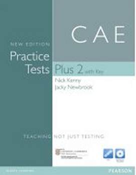 CAE Practice Tests Plus New 2 z Kluczem (+ Itest Access Code and Audio CD)