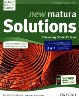 New Matura Solutions Elementary Podręcznik + Ebook