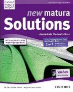 New Matura Solutions Intermediate Podręcznik + Ebook