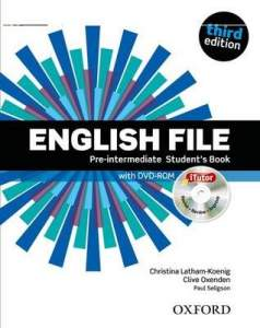 ENGLISH FILE THIRD EDITION PRE-INTERMEDIATE PODRĘCZNIK