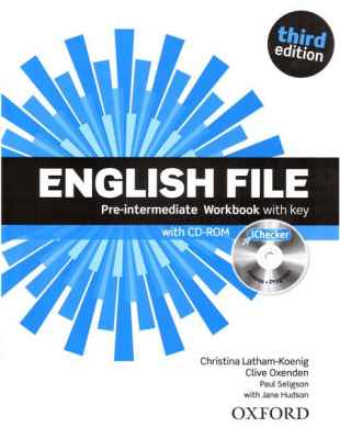 English File Third Edition Pre-intermediate Zeszyt Ćwiczeń z Odp.