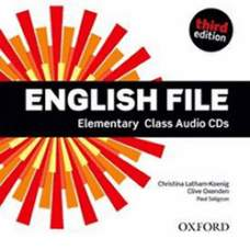 English File Third Edition Elementary Płytki Audio Cd