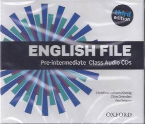 English File Third Edition Pre-intermediate Płytki Audio Cd
