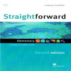 Straightforward 2nd Edition Elementary Płytki Audio Cd