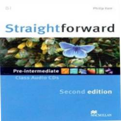 Straightforward 2nd Edition Pre-intermediate Płytki Audio Cd