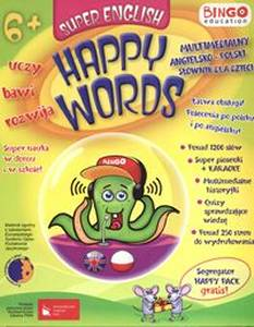 Super English Happy Words