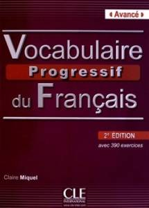 Vocabulaire Progressif Du Francais Avance + CD (druga Edycja)