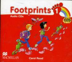 Footprints Macmillan 1 Płytki Audio CD