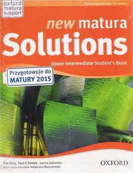 New Matura Solutions Upper-intermediate Podręcznik
